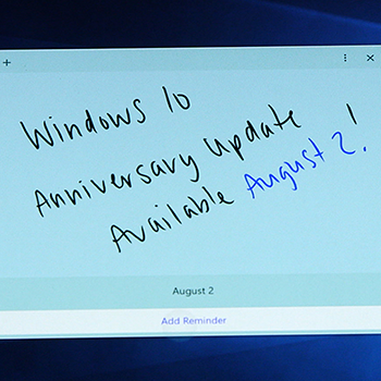 Windows 10 Anniversary Update Available August 2nd