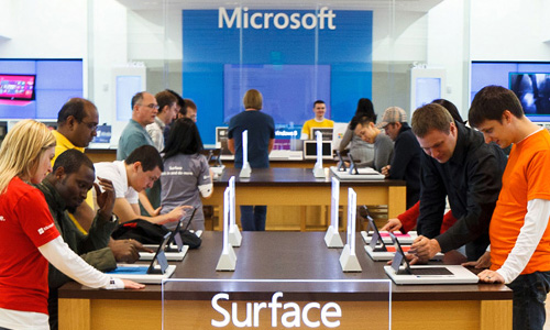 New Microsoft Retail Store Benefit