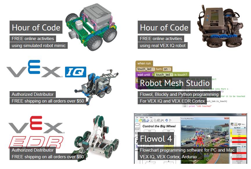 Microsoft Alumni Network - Robot Mesh